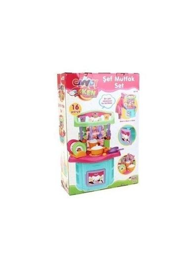 Dede Candy Ken Şef Mutfak Seti Kız Çocuk Oyuncak Renkli